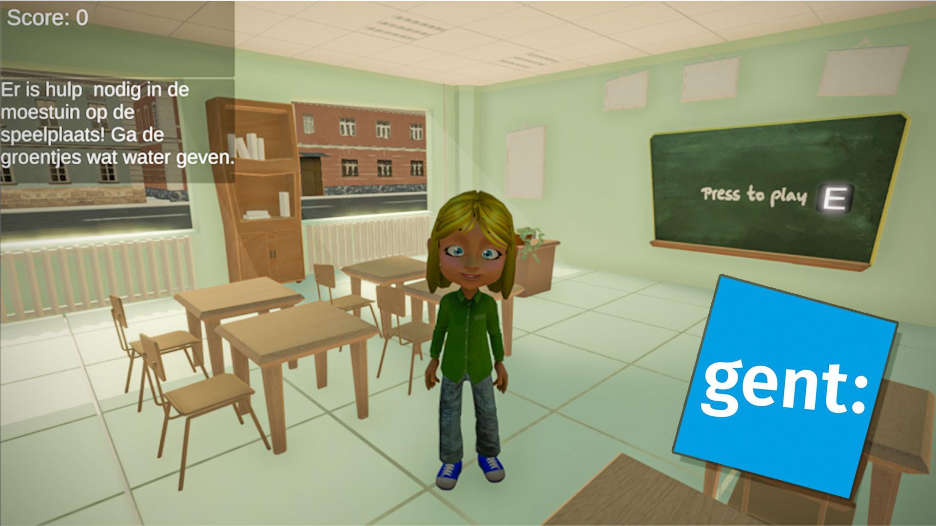 Screenshot enviroment game Gent 1
