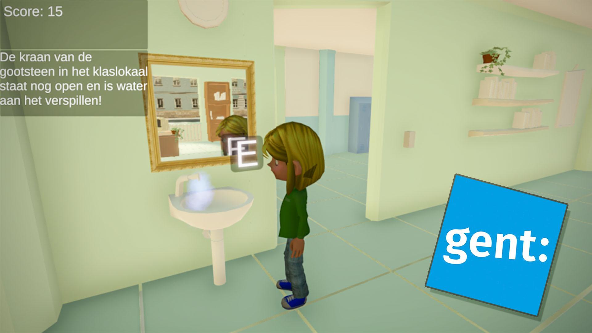 Screenshot enviroment game Gent 3