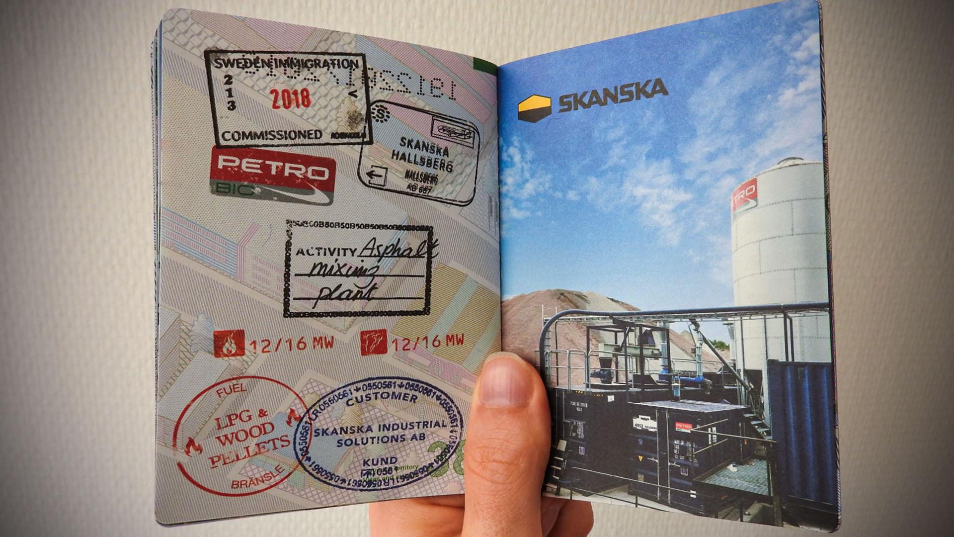 Passport Inside